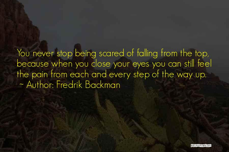 Falling For Someone But Scared Quotes By Fredrik Backman