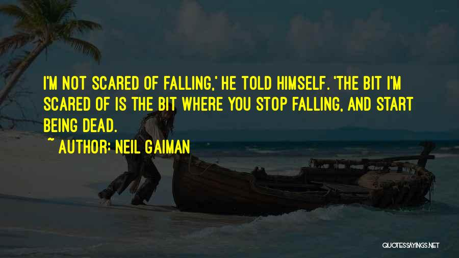 Falling For Someone But Scared Quotes By Neil Gaiman