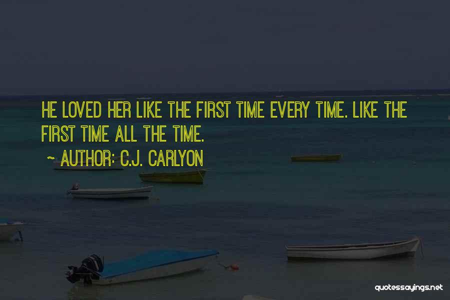Falling For You Book Quotes By C.J. Carlyon