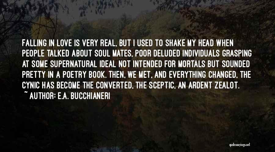 Falling For You Book Quotes By E.A. Bucchianeri