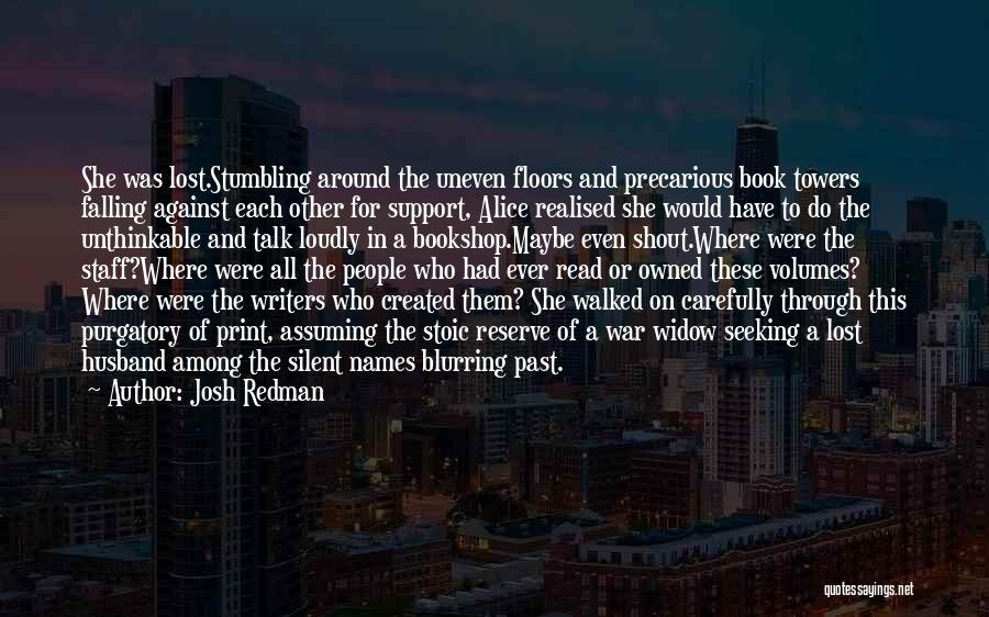 Falling For You Book Quotes By Josh Redman