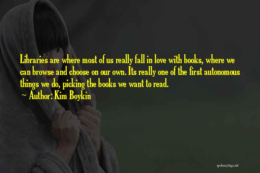 Falling For You Book Quotes By Kim Boykin