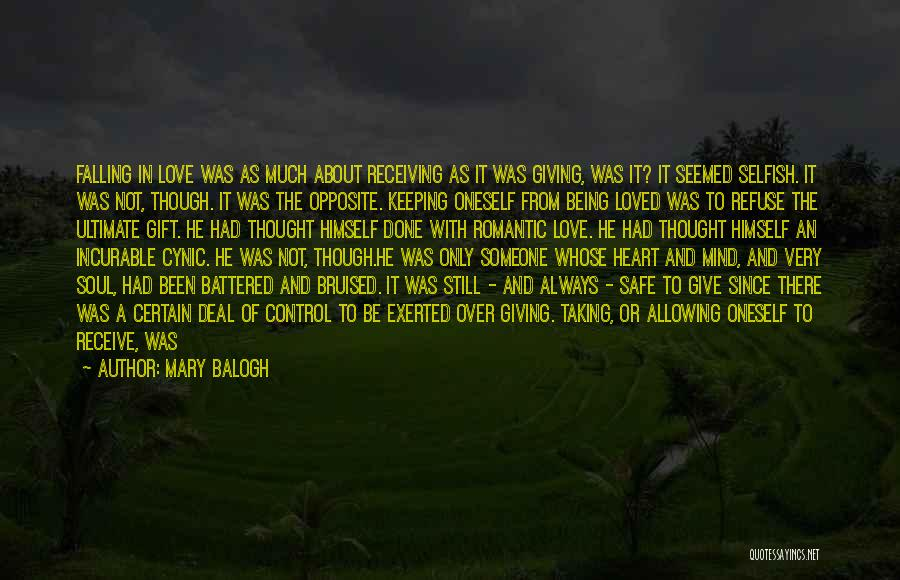 Falling In Love All Over Again Quotes By Mary Balogh
