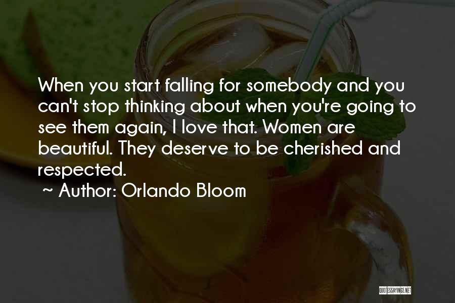 Falling In Love All Over Again Quotes By Orlando Bloom