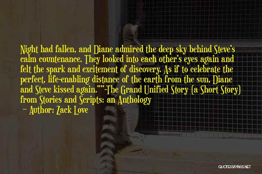 Falling In Love All Over Again Quotes By Zack Love