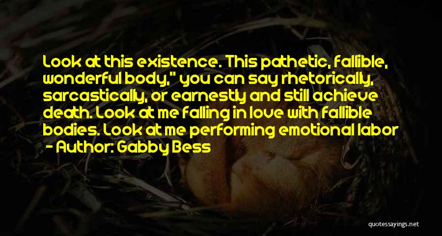 Falling In Love With Me Quotes By Gabby Bess