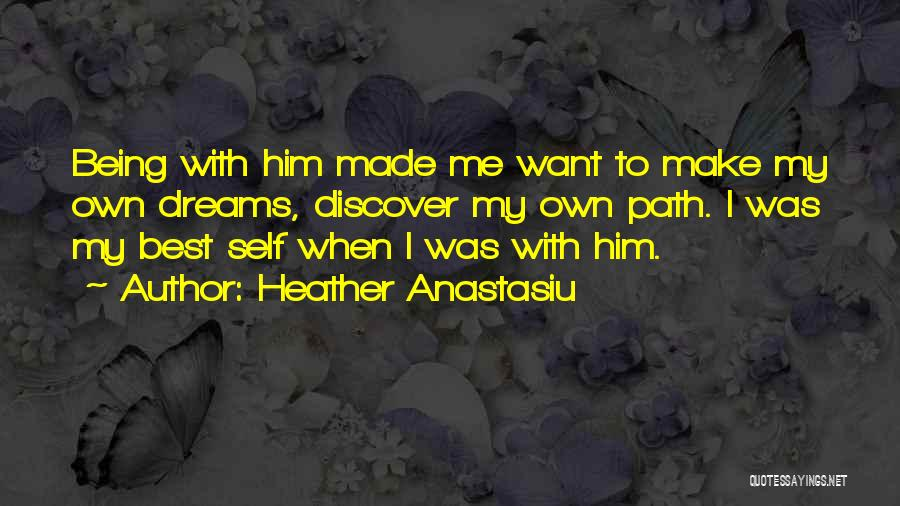 Falling In Love With Me Quotes By Heather Anastasiu
