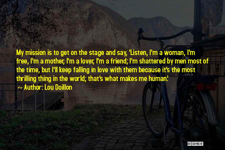 Falling In Love With Me Quotes By Lou Doillon
