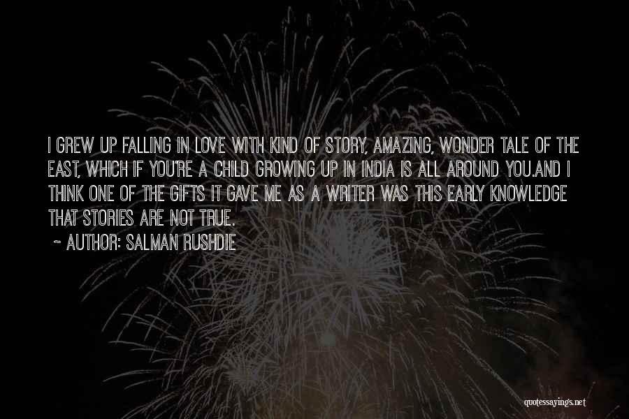 Falling In Love With Me Quotes By Salman Rushdie