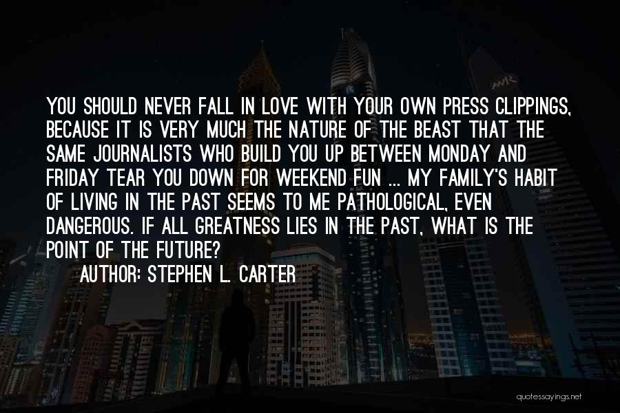 Falling In Love With Me Quotes By Stephen L. Carter
