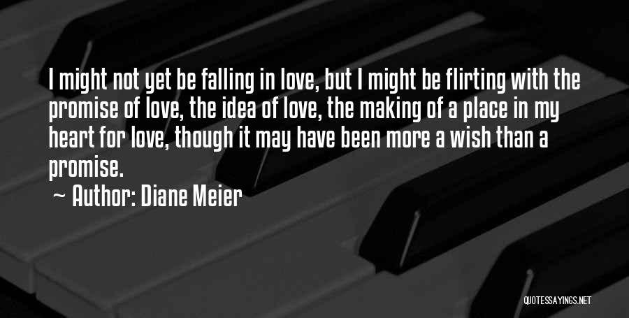 Falling In Love With Someone Again Quotes By Diane Meier