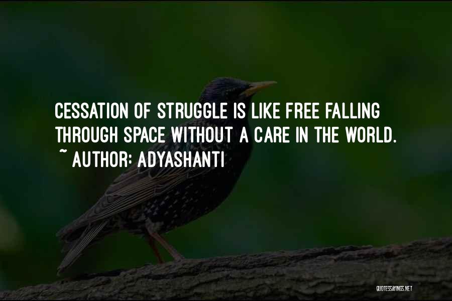 Falling Quotes By Adyashanti