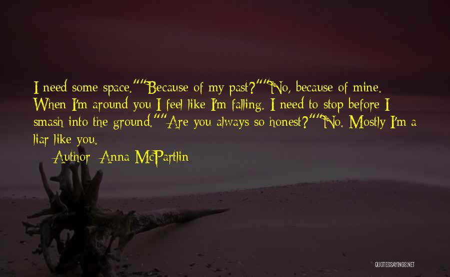 Falling Quotes By Anna McPartlin