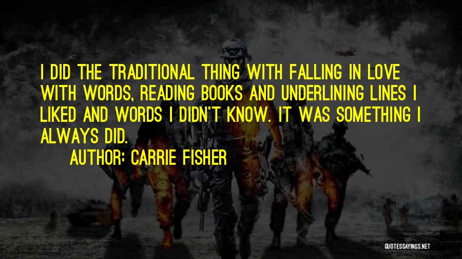 Falling Quotes By Carrie Fisher