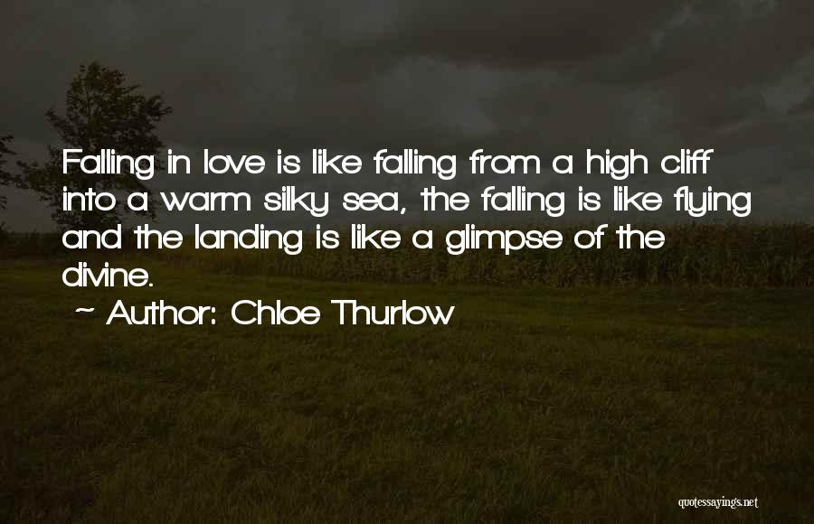 Falling Quotes By Chloe Thurlow