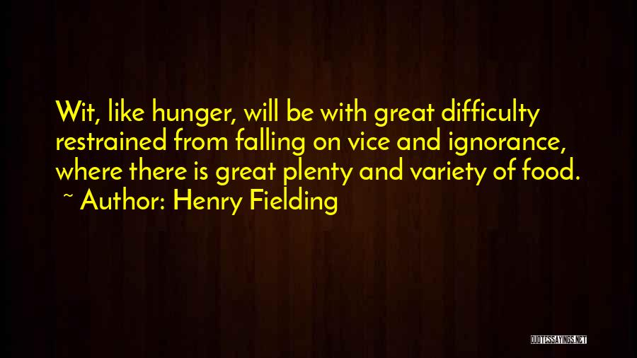 Falling Quotes By Henry Fielding