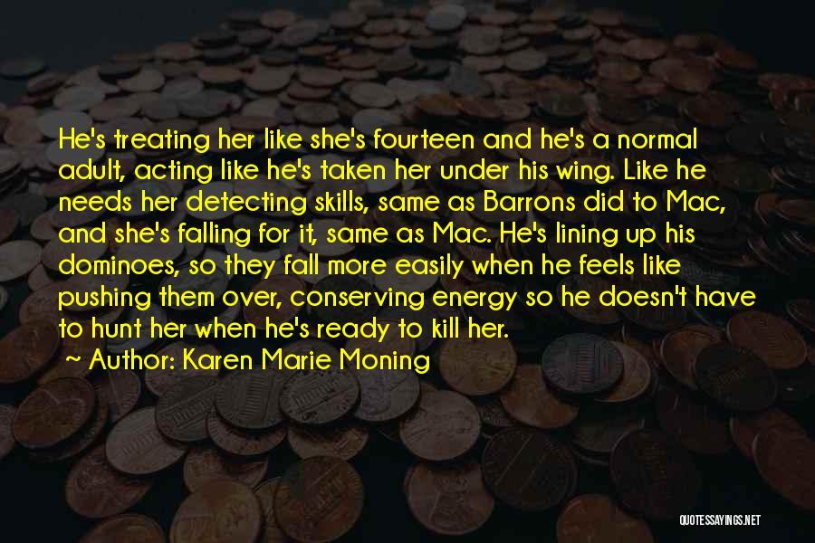 Falling Quotes By Karen Marie Moning