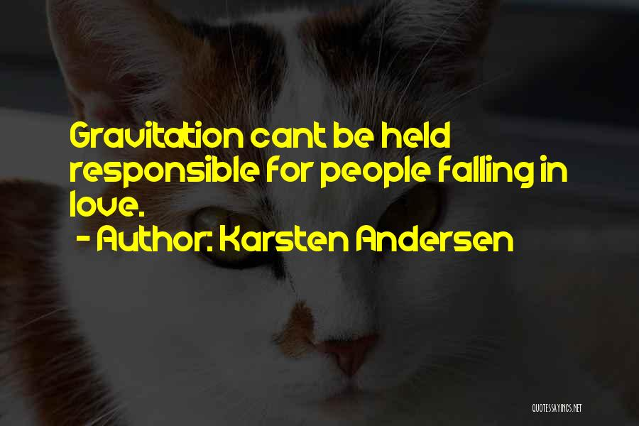 Falling Quotes By Karsten Andersen
