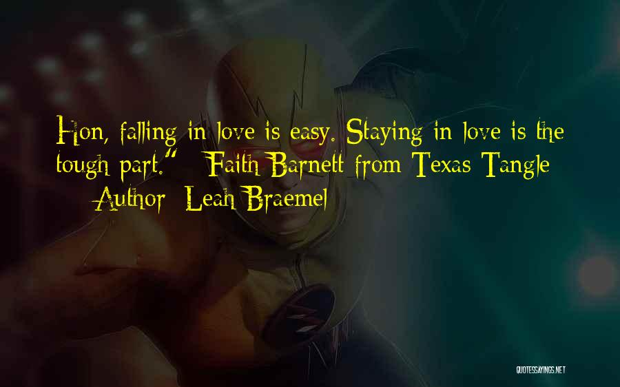 Falling Quotes By Leah Braemel
