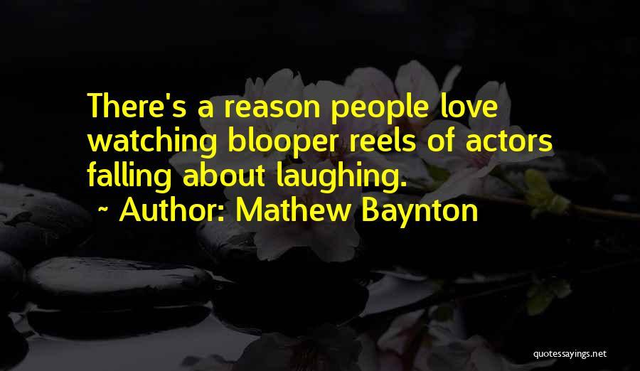 Falling Quotes By Mathew Baynton