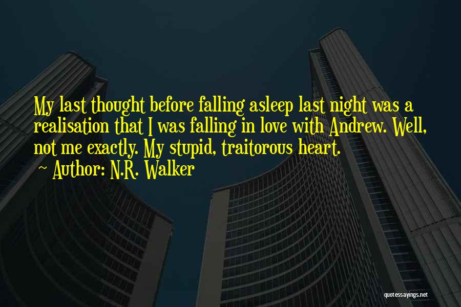 Falling Quotes By N.R. Walker