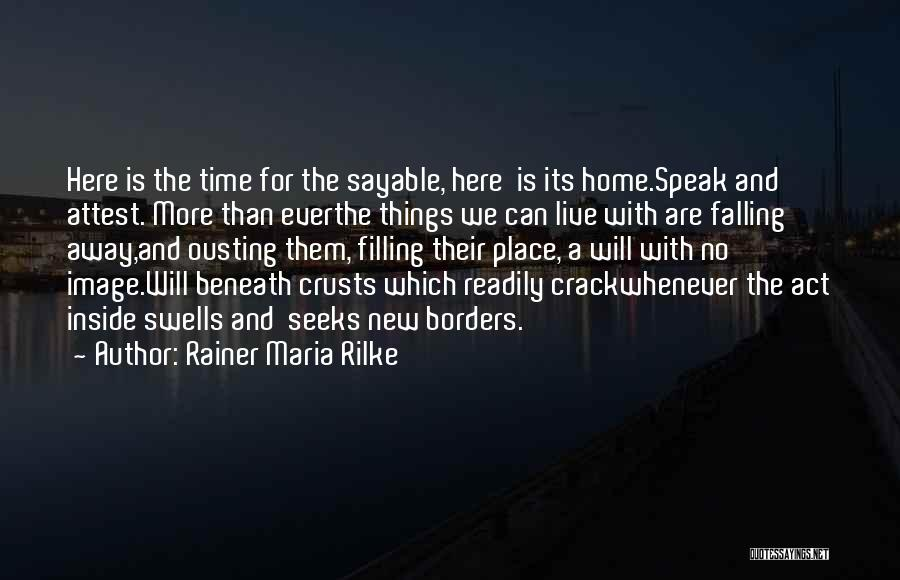 Falling Quotes By Rainer Maria Rilke