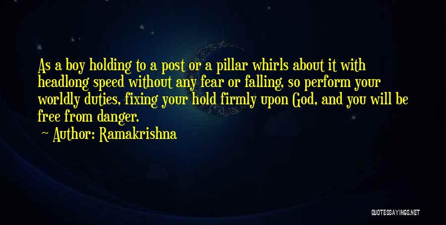 Falling Quotes By Ramakrishna