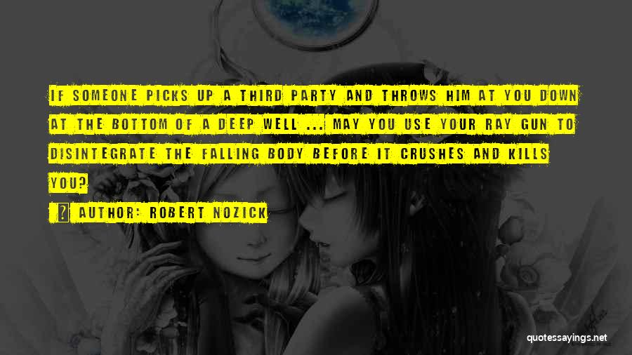 Falling Quotes By Robert Nozick