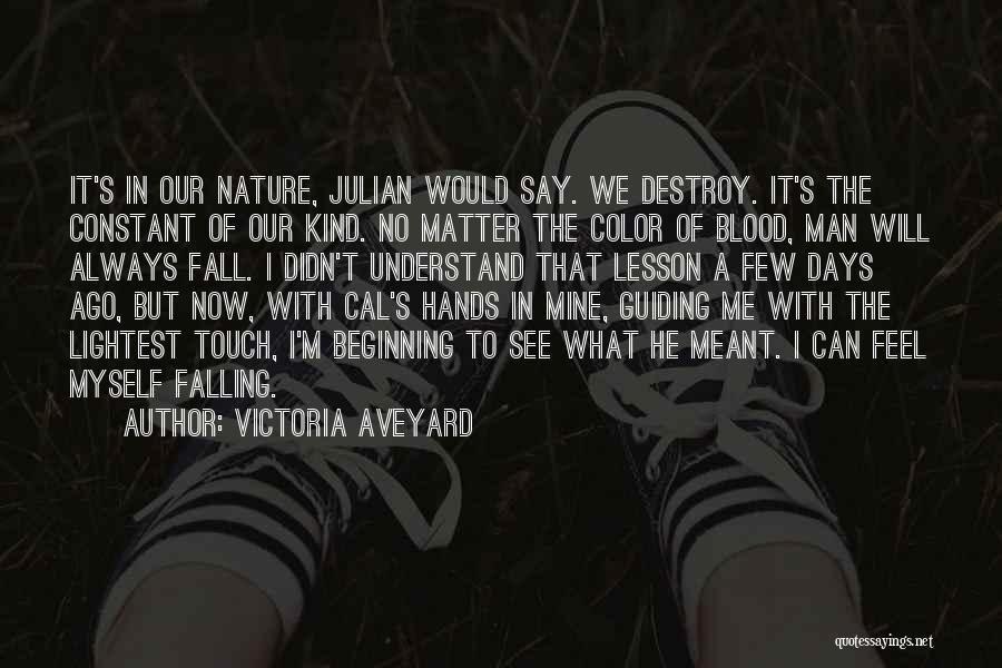 Falling Quotes By Victoria Aveyard