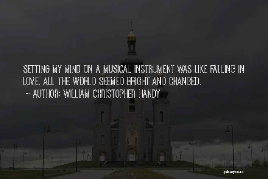 Falling Quotes By William Christopher Handy