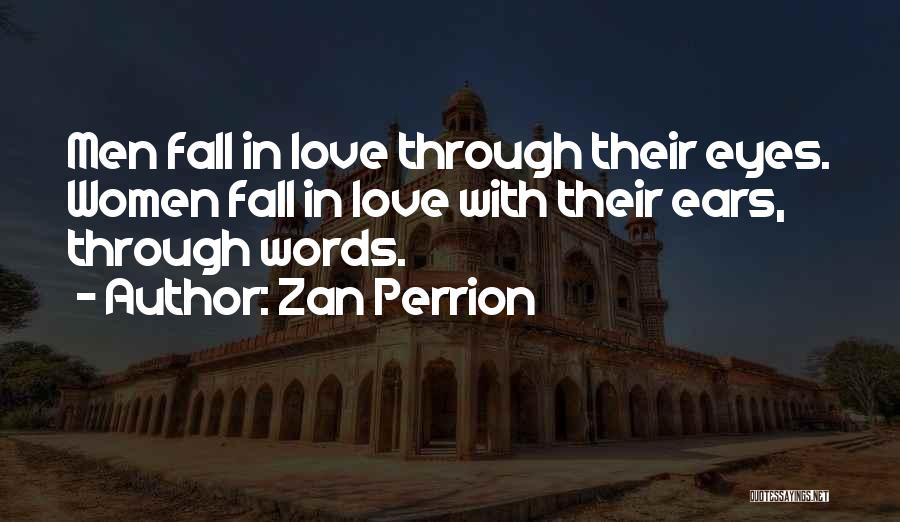 Falling Quotes By Zan Perrion