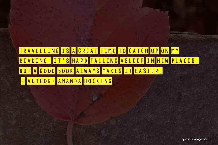 Falling Too Hard Quotes By Amanda Hocking