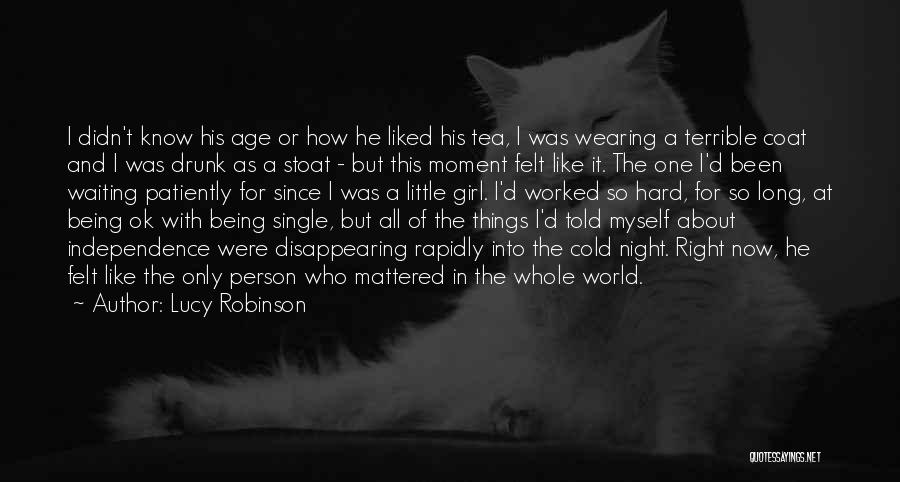 Falling Too Hard Quotes By Lucy Robinson