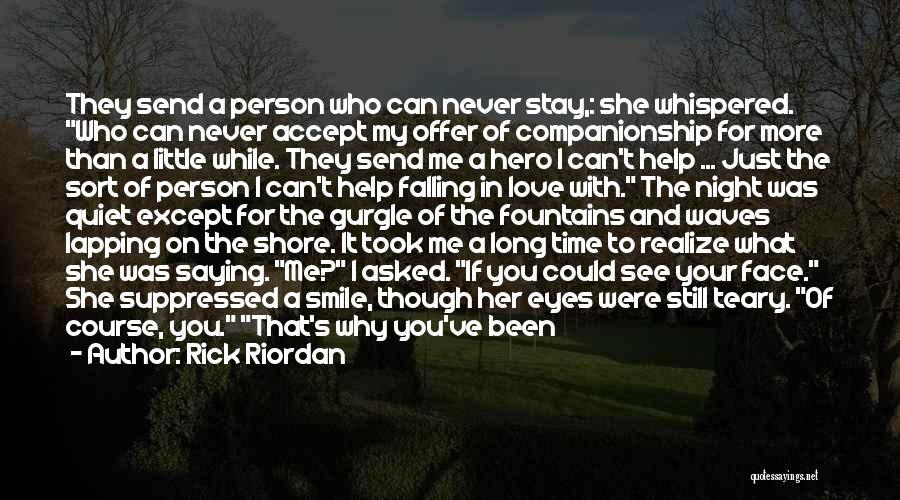 Falling Too Hard Quotes By Rick Riordan