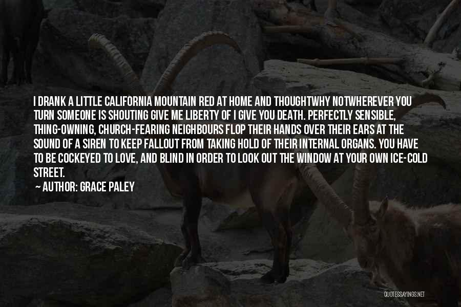 Fallout 1 Death Quotes By Grace Paley