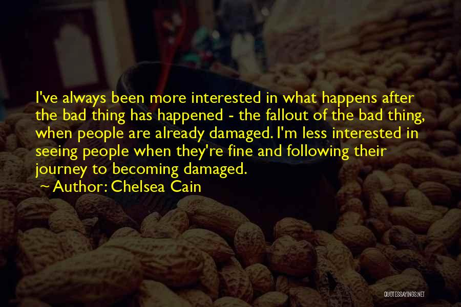 Fallout 3 Quotes By Chelsea Cain
