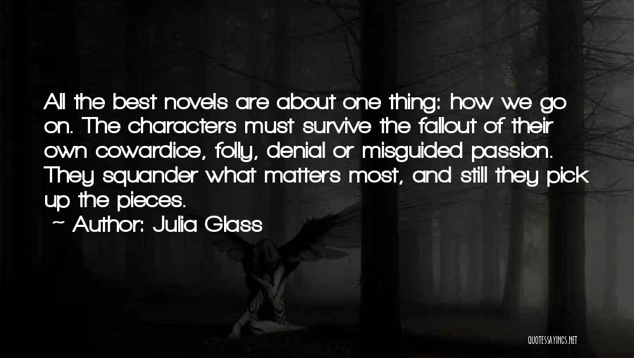 Fallout 3 Quotes By Julia Glass