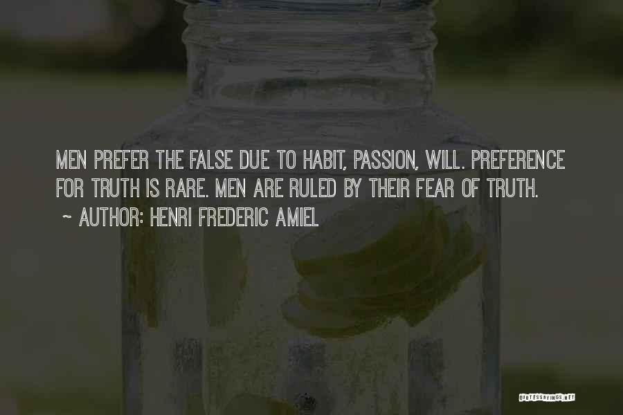 False Truth Quotes By Henri Frederic Amiel