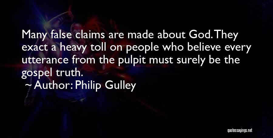 False Truth Quotes By Philip Gulley