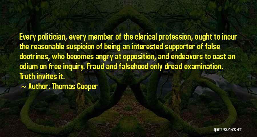 False Truth Quotes By Thomas Cooper