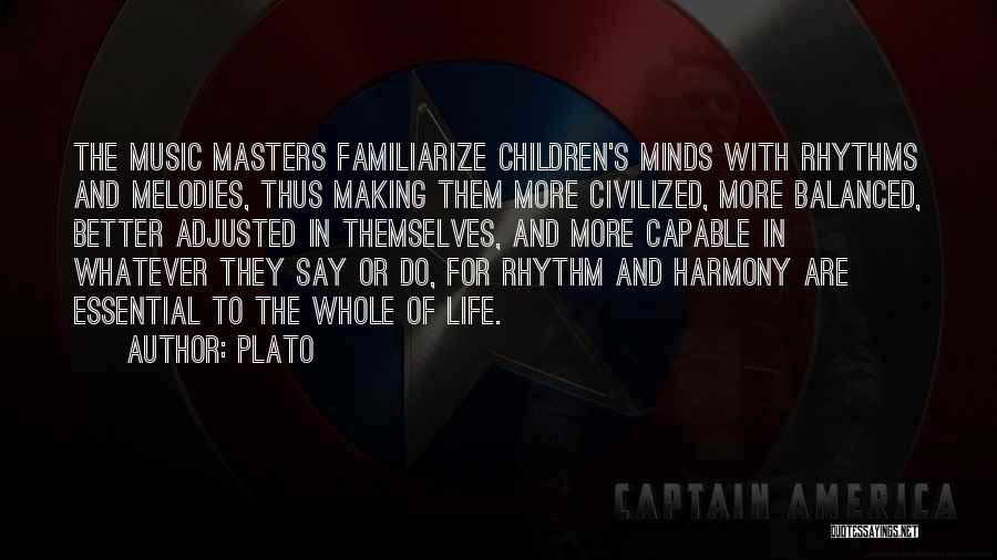 Familiarize Quotes By Plato