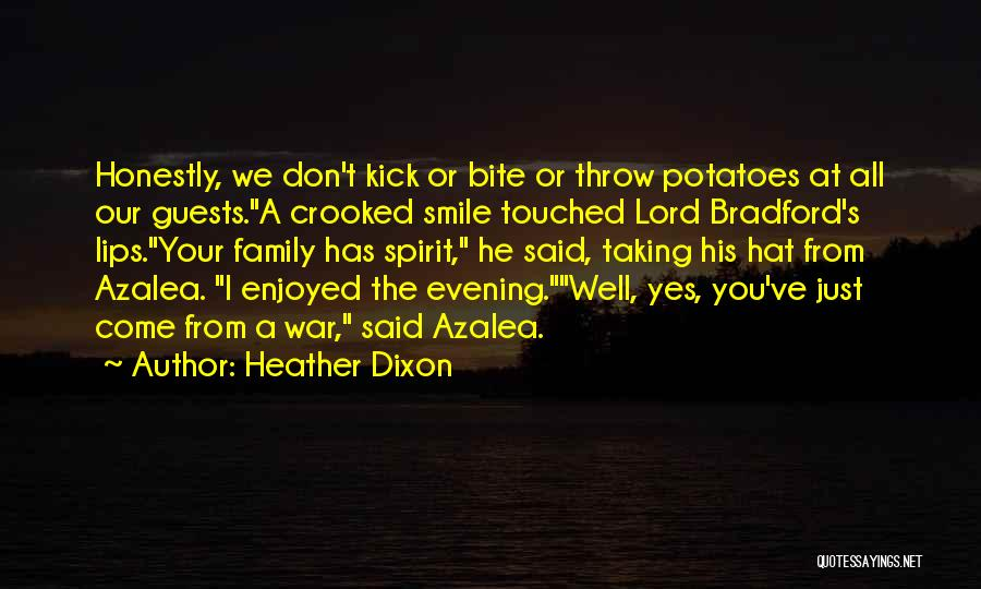Family At War Quotes By Heather Dixon