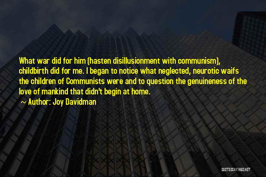 Family At War Quotes By Joy Davidman