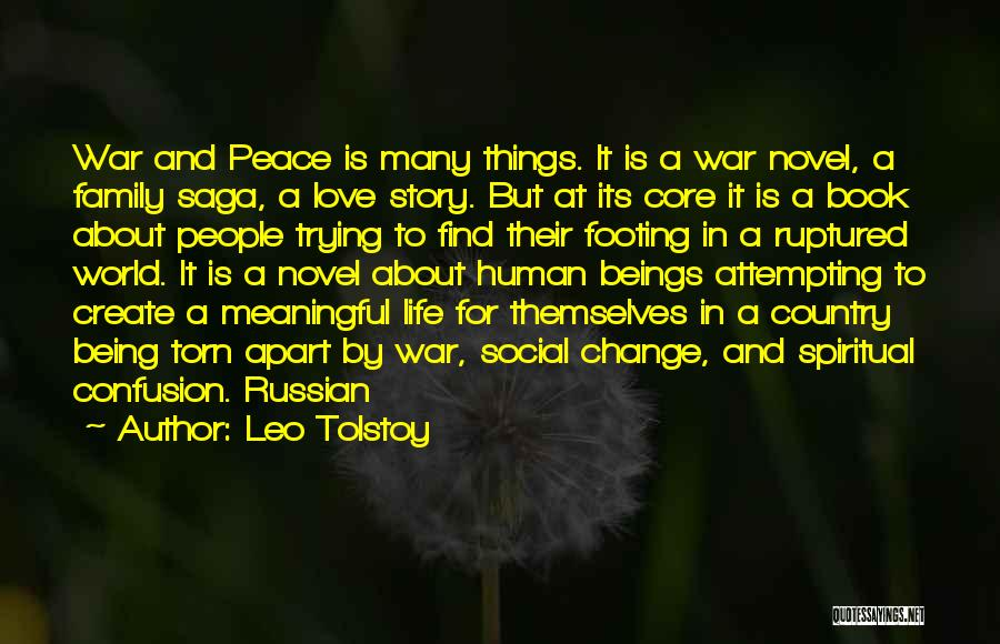 Family At War Quotes By Leo Tolstoy