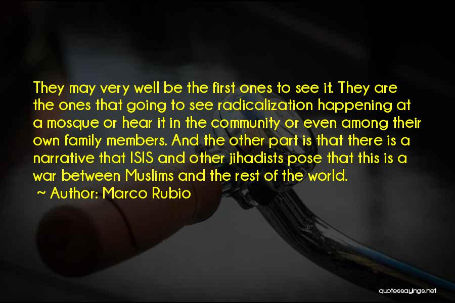 Family At War Quotes By Marco Rubio