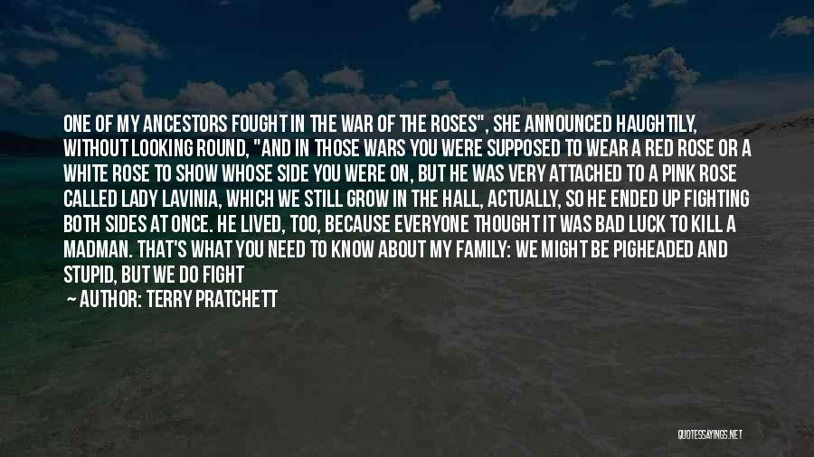 Family At War Quotes By Terry Pratchett