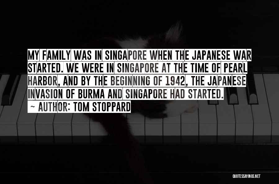 Family At War Quotes By Tom Stoppard
