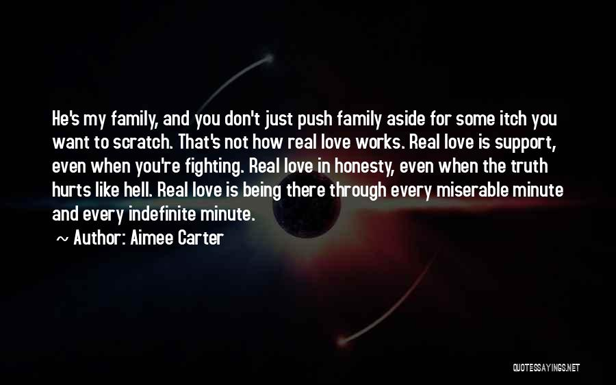 Family Being There For You Quotes By Aimee Carter