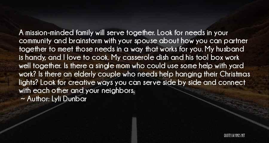 Family By Your Side Quotes By Lyli Dunbar