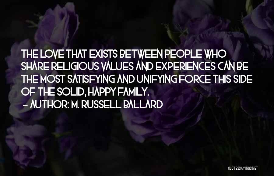 Family By Your Side Quotes By M. Russell Ballard